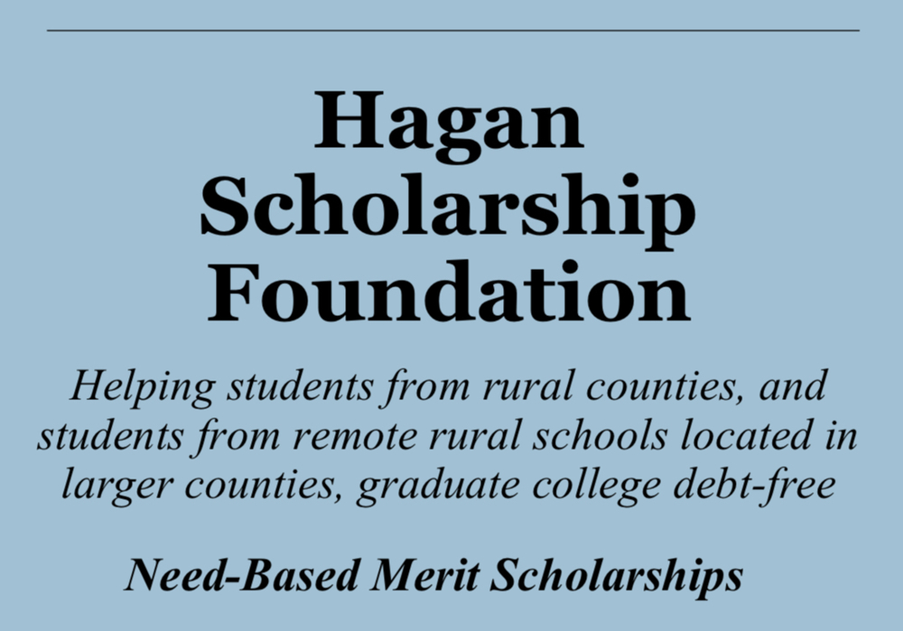 Hagan Scholarship - $48,000