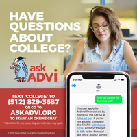 Have Questions About College? Ask ADVi!